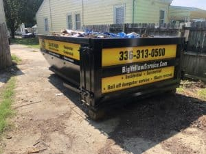 Looking to rent a dumpster in Our Reidsville Service Area?