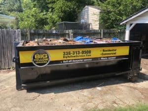 Looking to rent a dumpster in Our Winston-Salem Service Area?